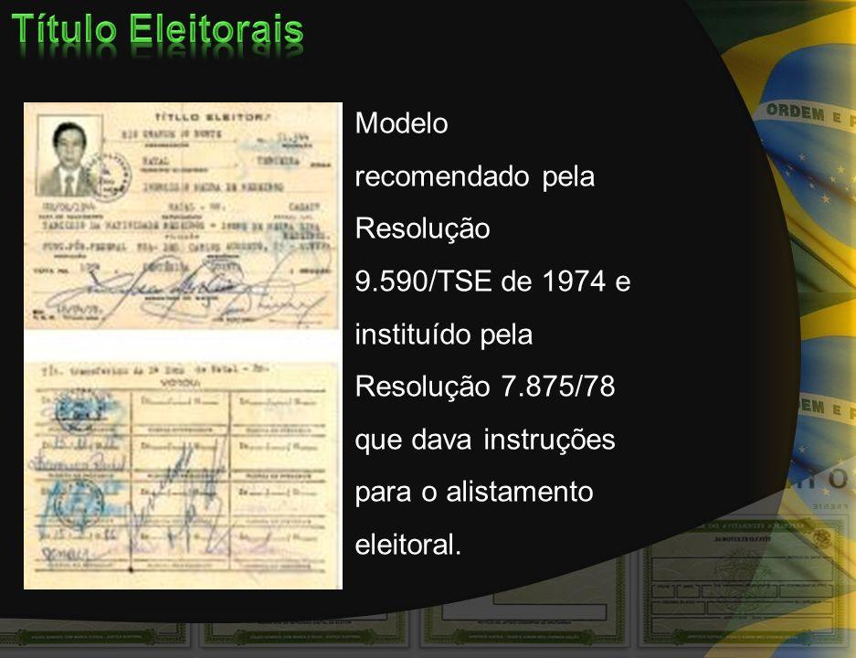 Título Eleitorais