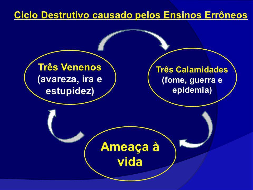Ameaça à vida Ciclo Destrutivo causado pelos Ensinos Errôneos