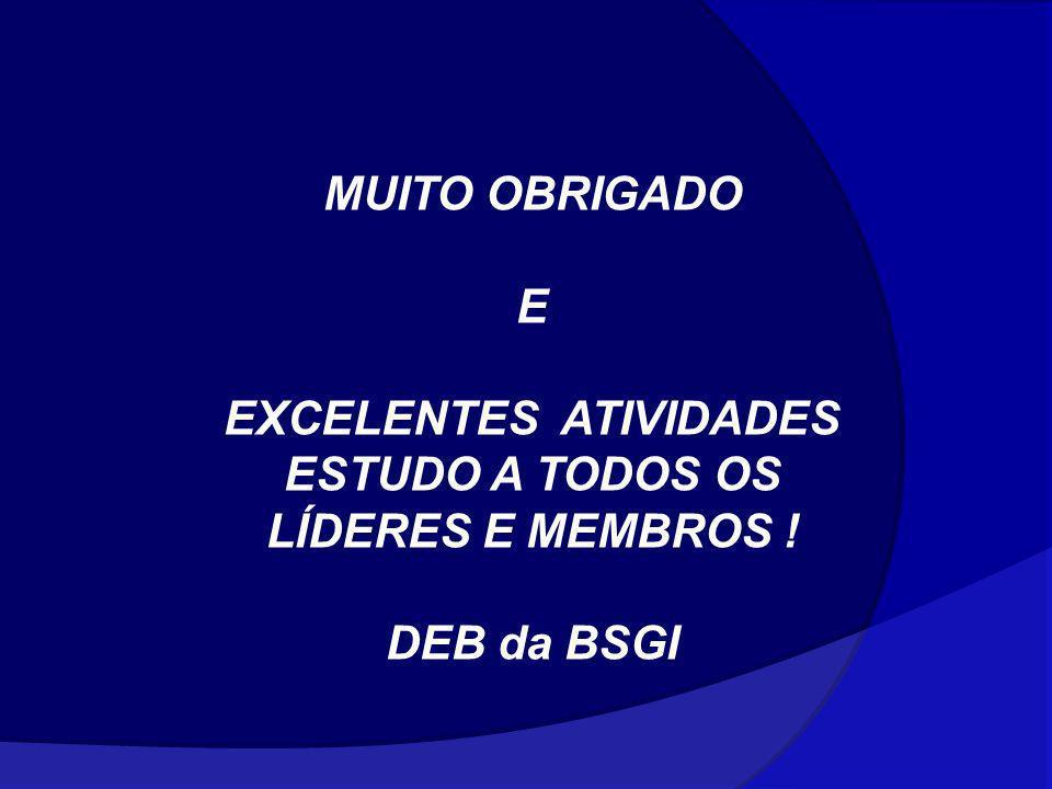 EXCELENTES ATIVIDADES ESTUDO A TODOS OS LÍDERES E MEMBROS !