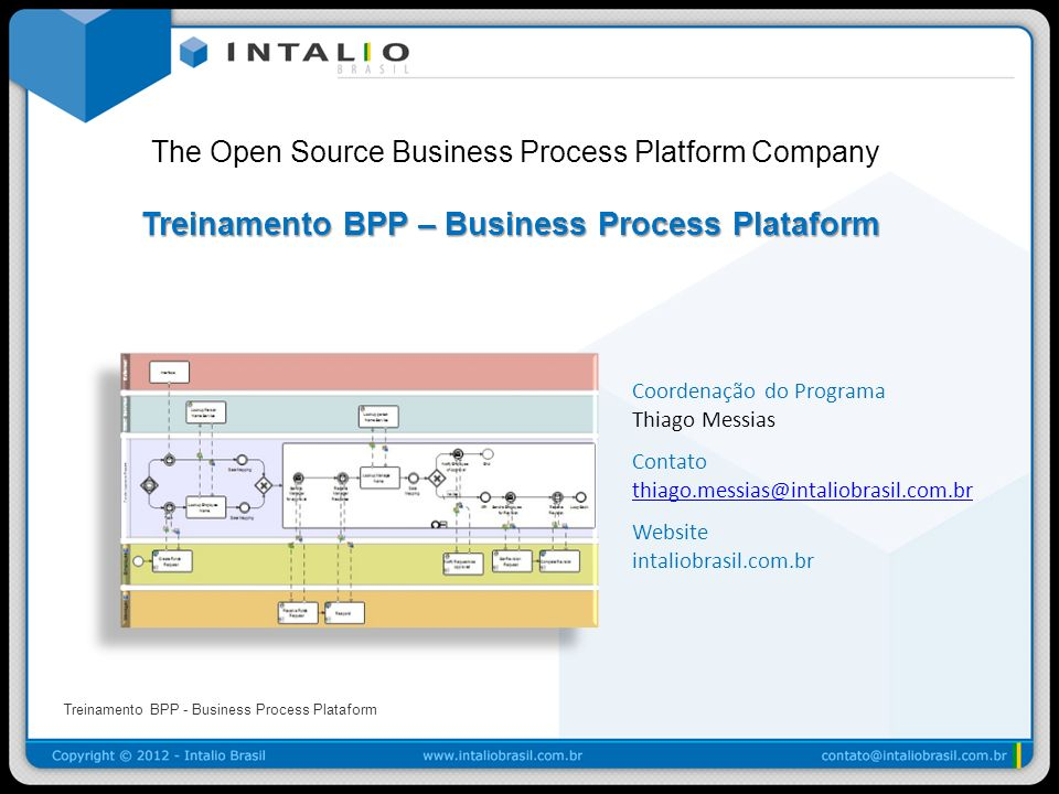 The Open Source Business Process Platform Company