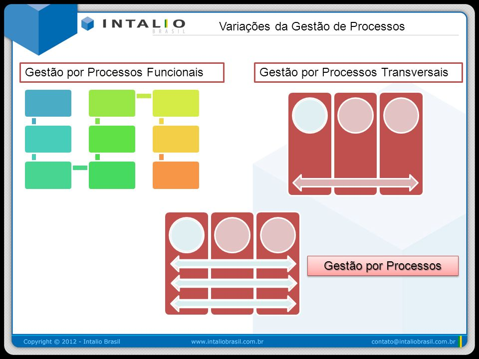 Variações da Gestão de Processos