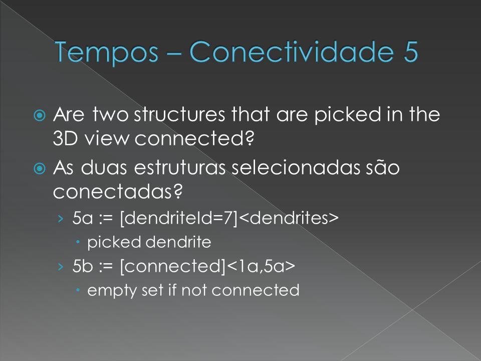 Tempos – Conectividade 5