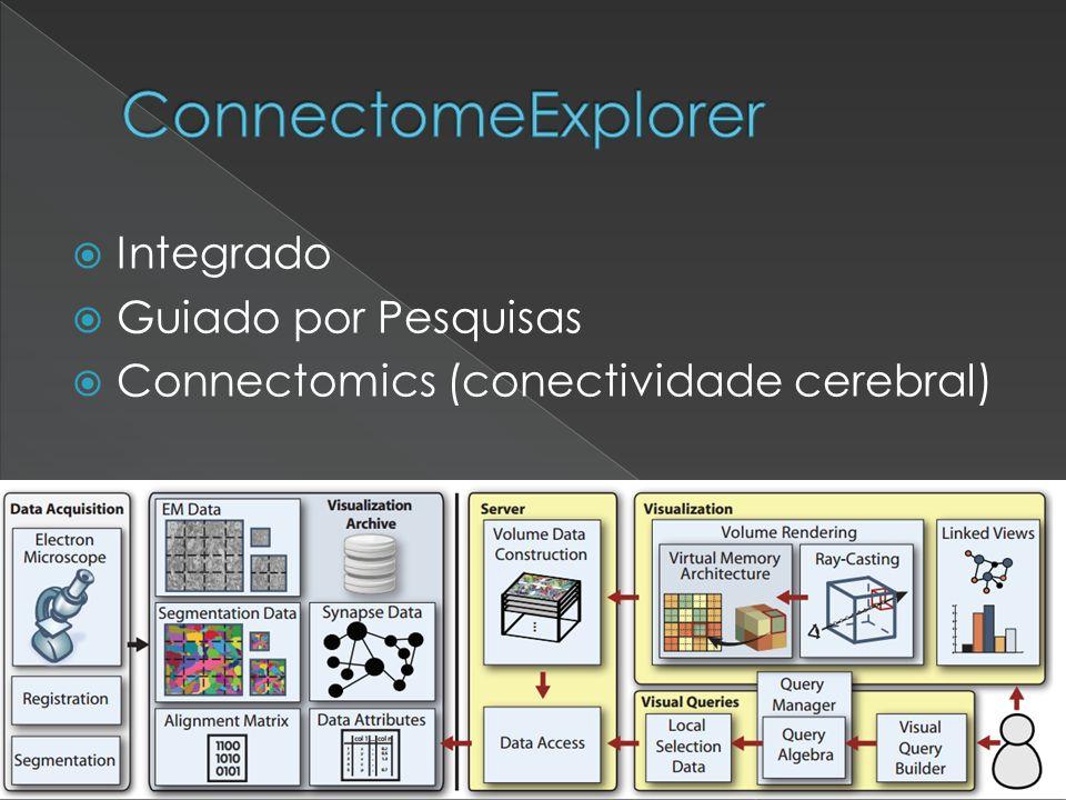 ConnectomeExplorer Integrado Guiado por Pesquisas