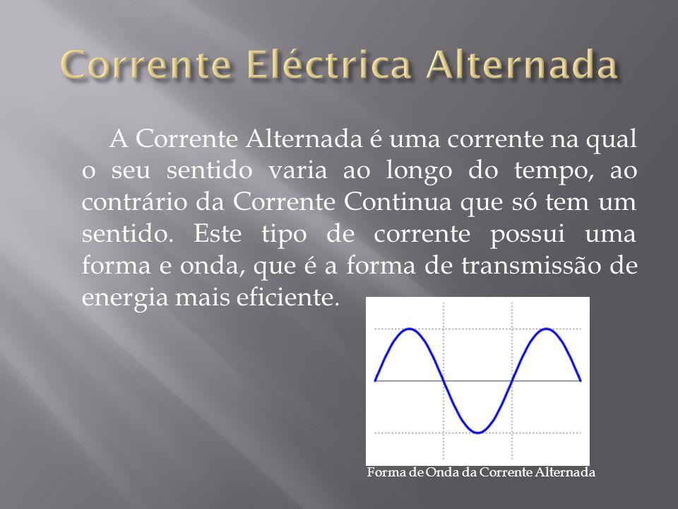 Corrente Eléctrica Alternada