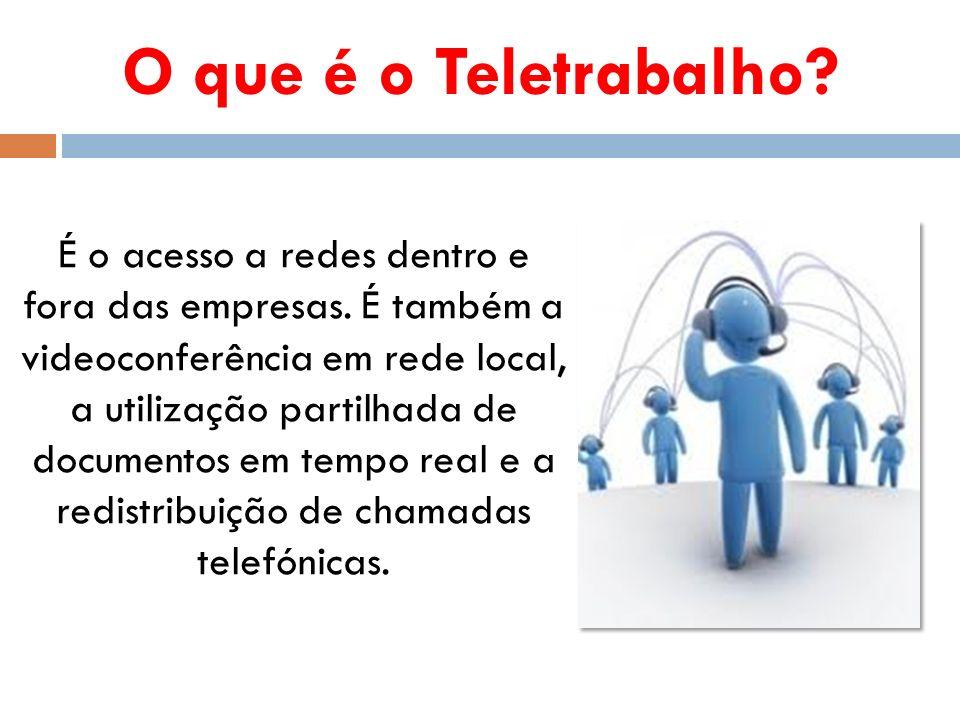 O que é o Teletrabalho