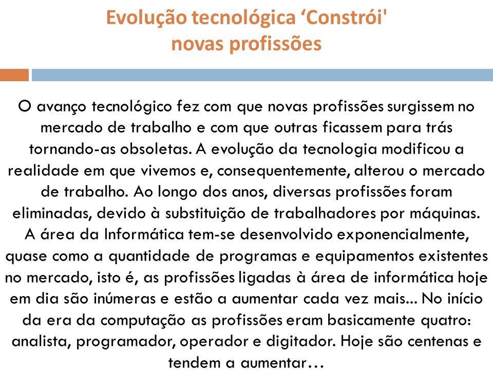 Evolução tecnológica 'Constrói