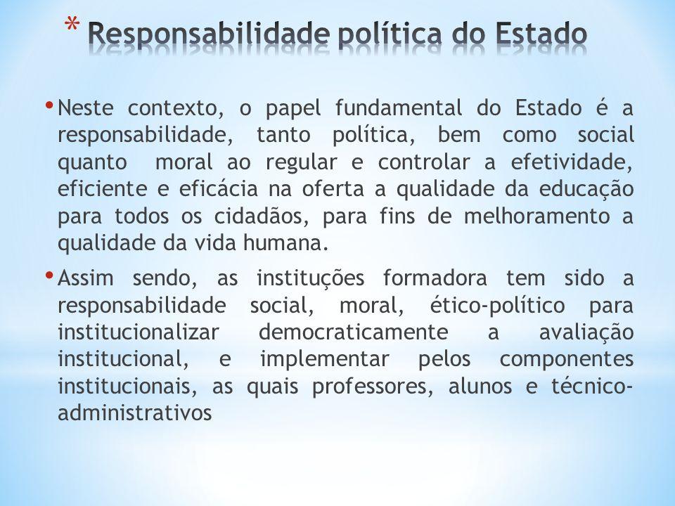 Responsabilidade política do Estado