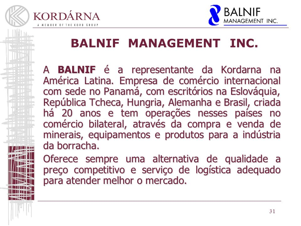 BALNIF MANAGEMENT INC.
