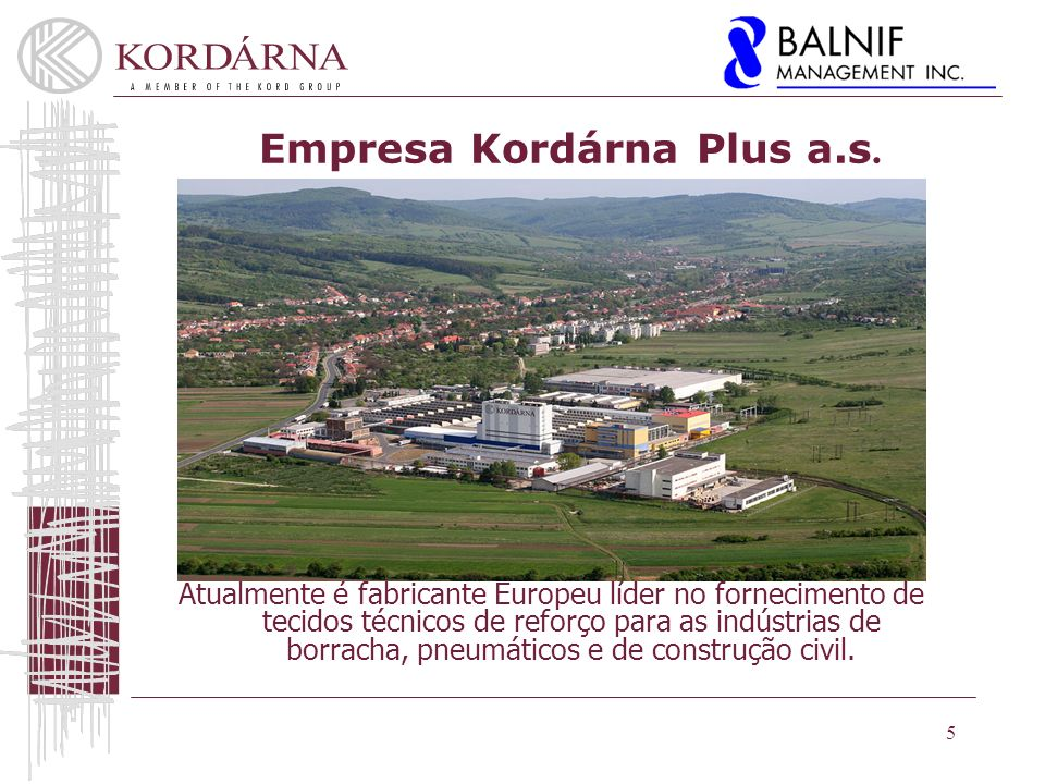 Empresa Kordárna Plus a.s.