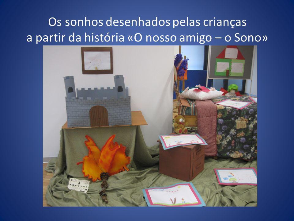 Os sonhos desenhados pelas crianças a partir da história «O nosso amigo – o Sono»