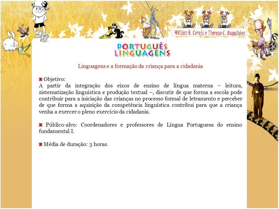 Linguagens e a formação da criança para a cidadania