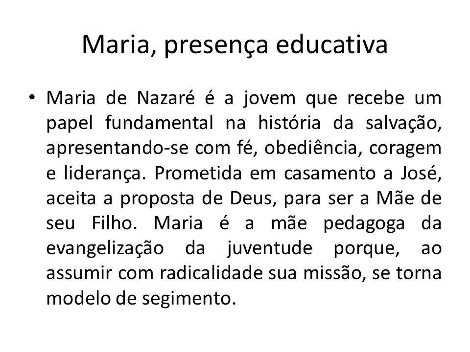 Maria, presença educativa