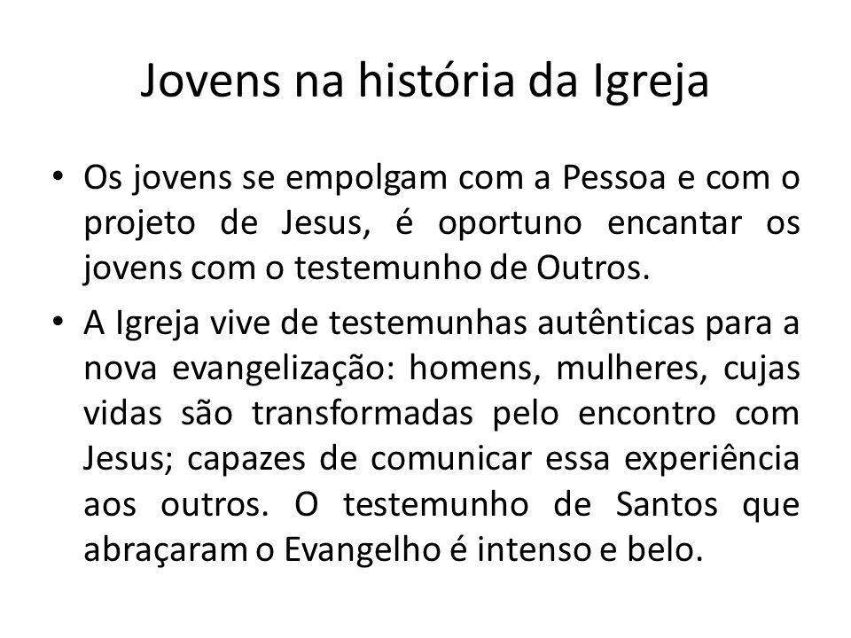 Jovens na história da Igreja
