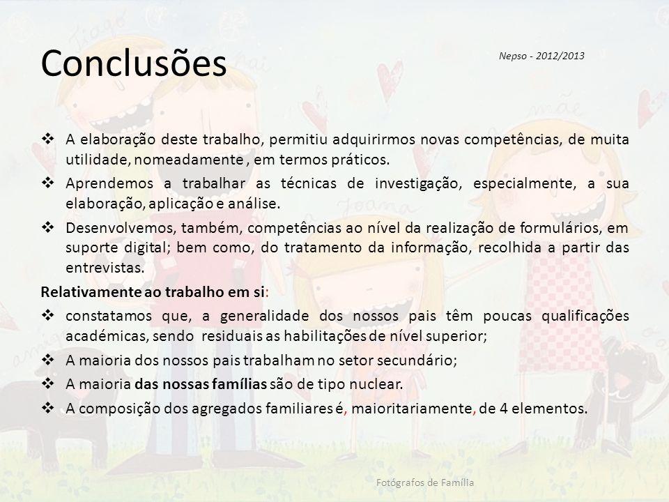 Conclusões Nepso - 2012/2013.