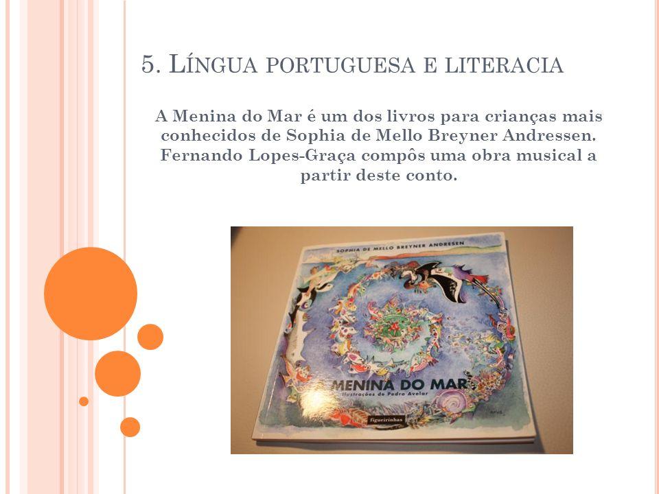 5. Língua portuguesa e literacia