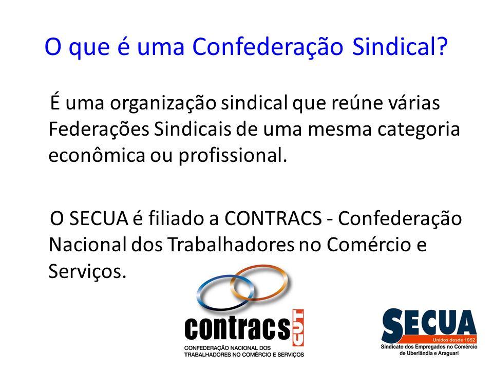 O que é uma Confederação Sindical