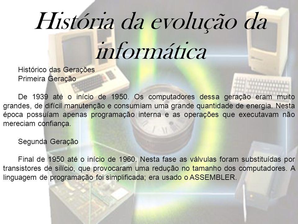 História da evolução da informática