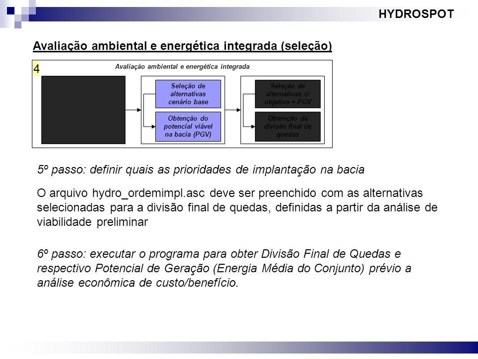 Avaliação ambiental e energética integrada (seleção)
