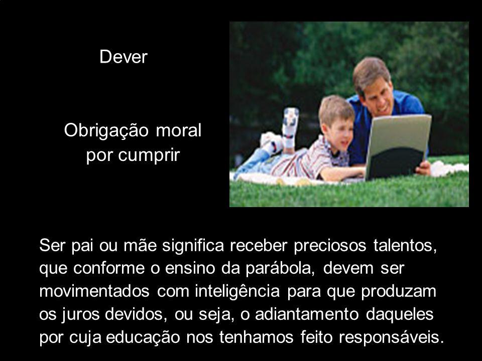 Dever Obrigação moral por cumprir