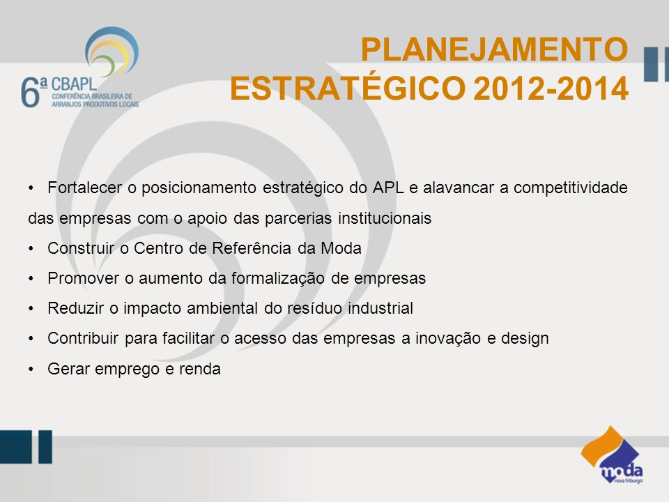PLANEJAMENTO ESTRATÉGICO 2012-2014