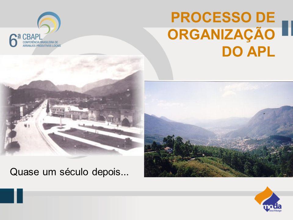 PROCESSO DE ORGANIZAÇÃO DO APL