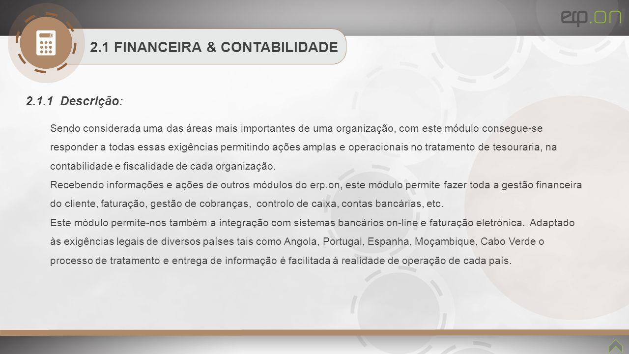 2.1 FINANCEIRA & CONTABILIDADE