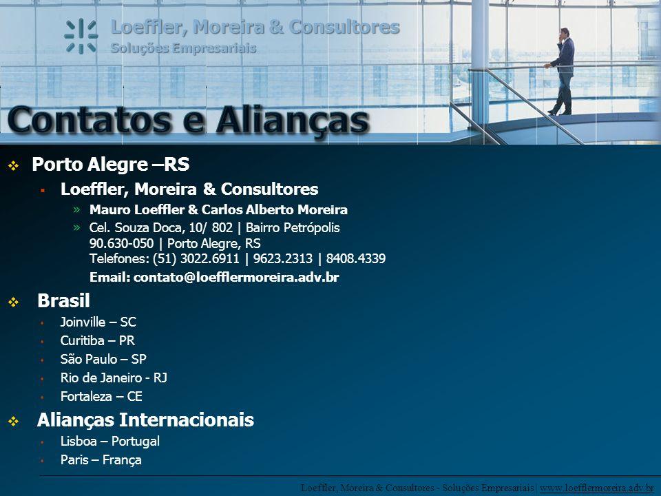 Contatos e Alianças Porto Alegre –RS Brasil Alianças Internacionais