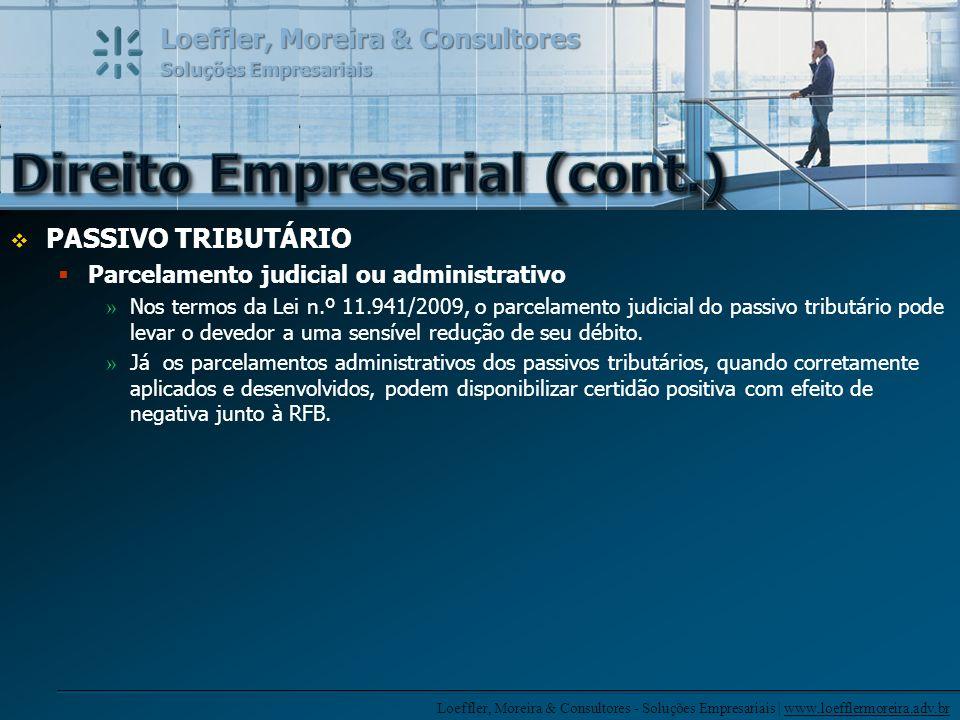 Direito Empresarial (cont.)