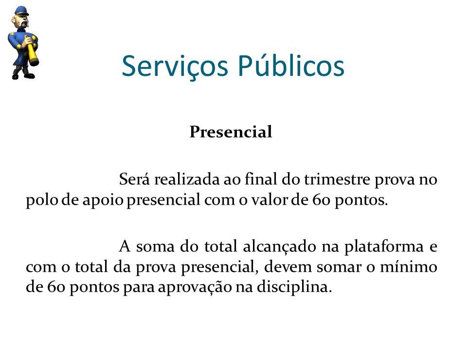 Serviços Públicos Presencial