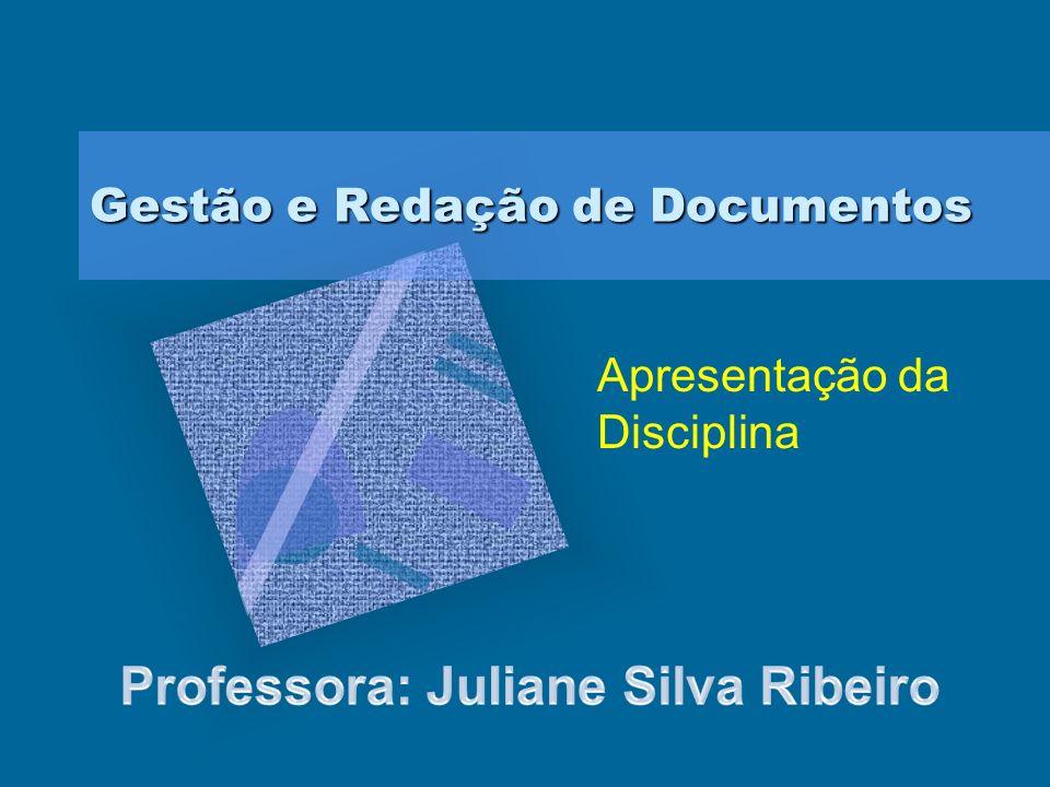 Gestão e Redação de Documentos