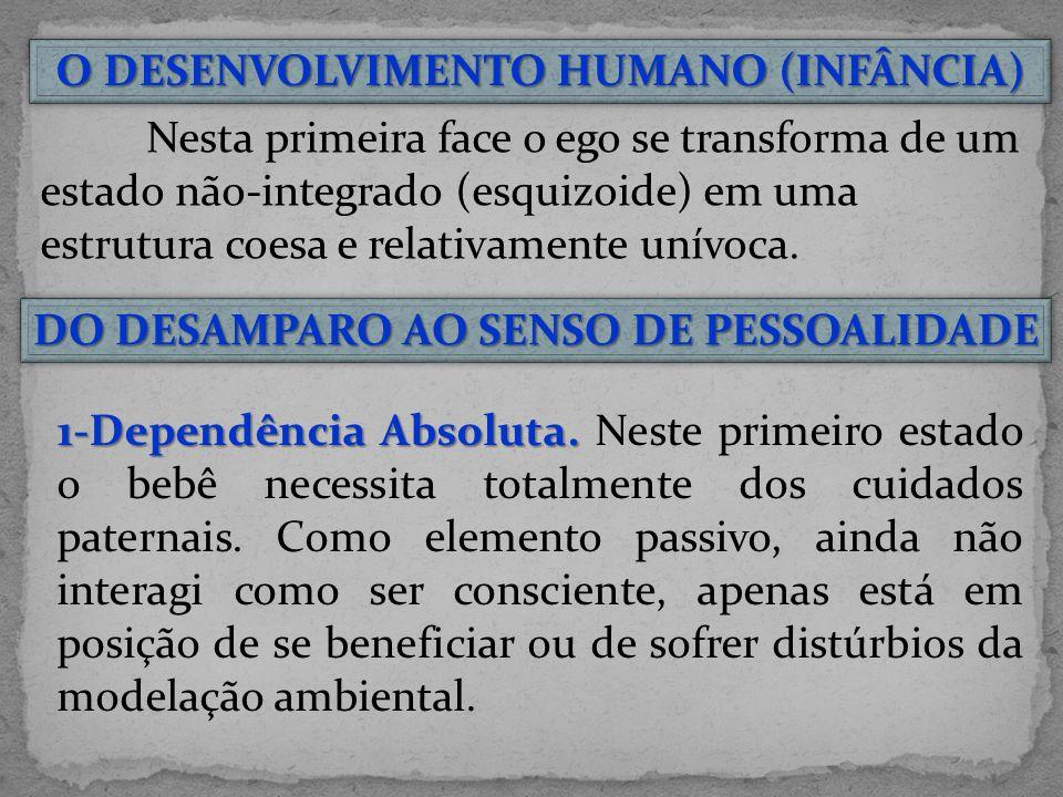O DESENVOLVIMENTO HUMANO (INFÂNCIA)