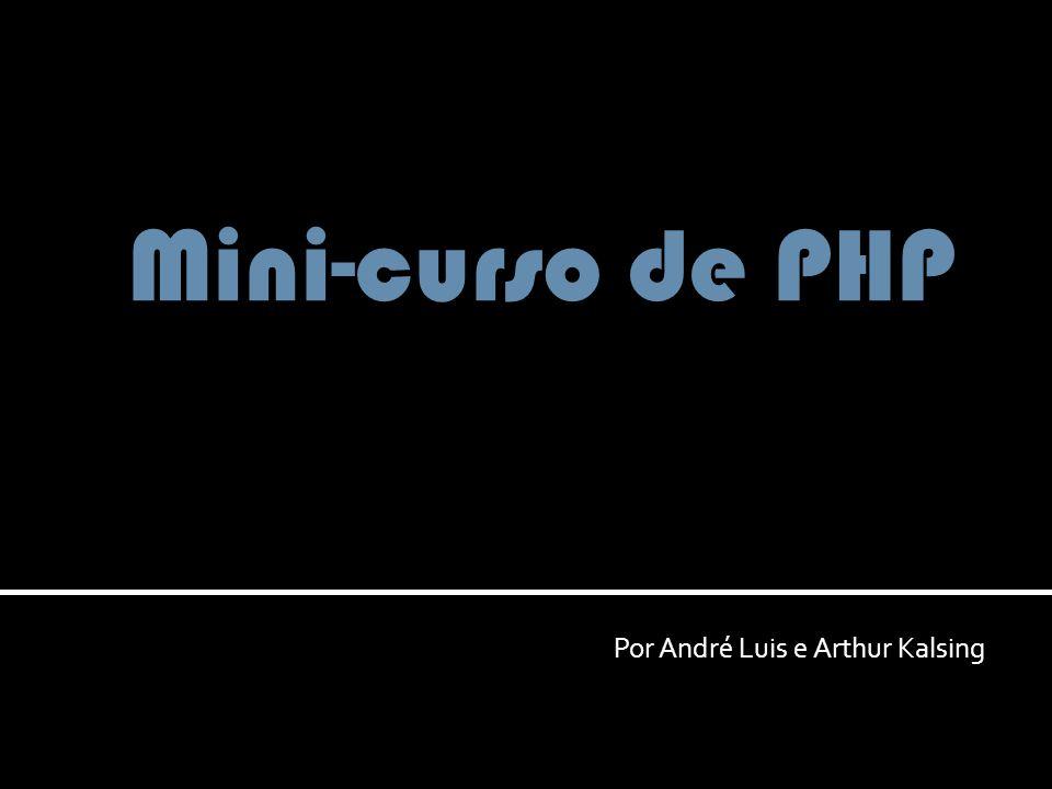 Por André Luis e Arthur Kalsing