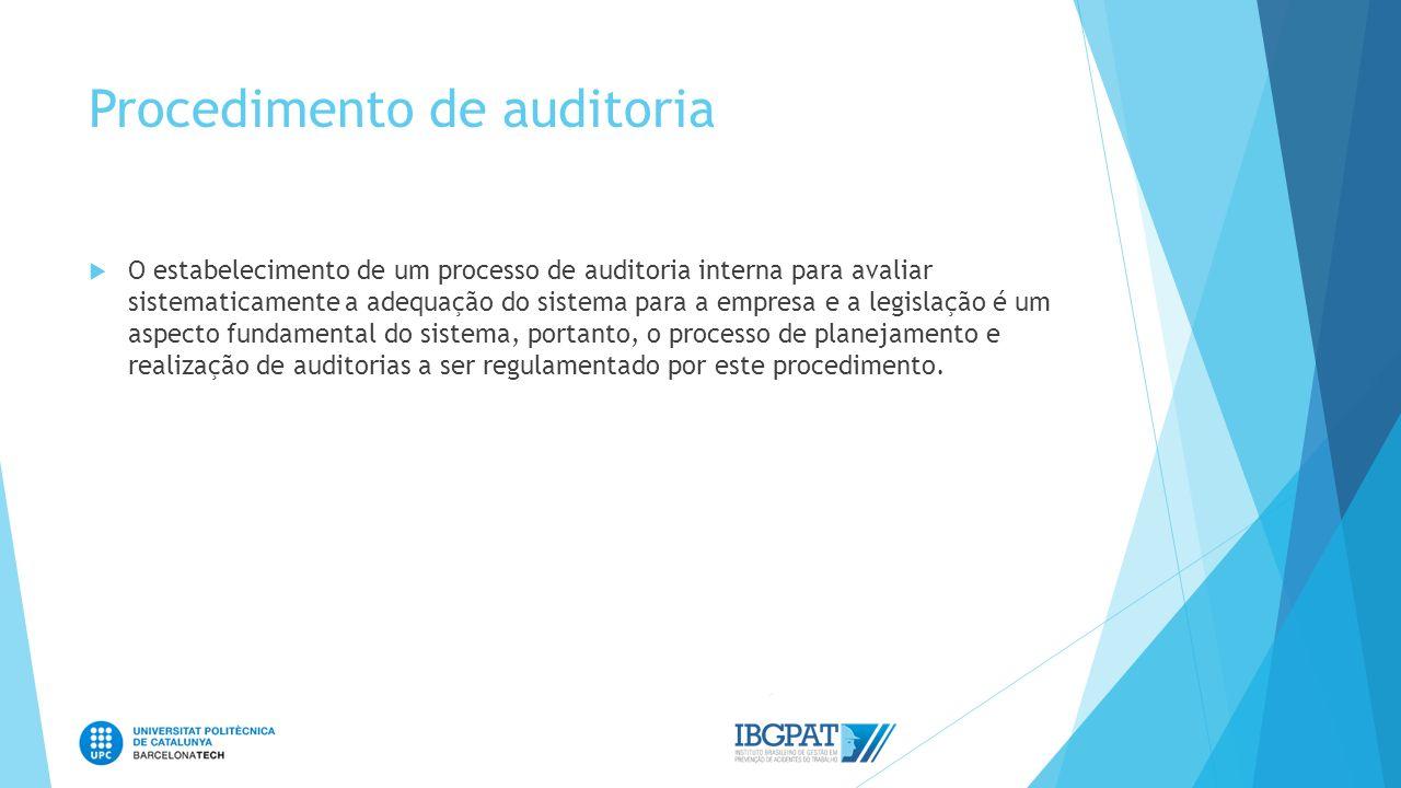 Procedimento de auditoria