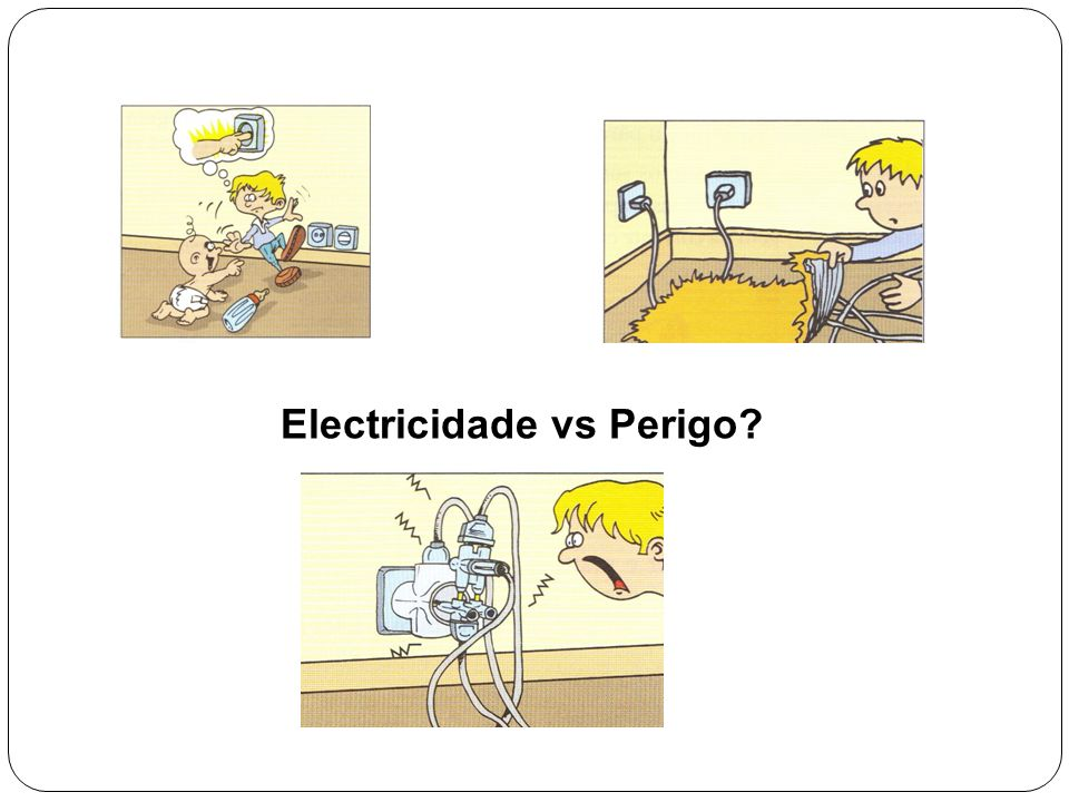 Electricidade vs Perigo