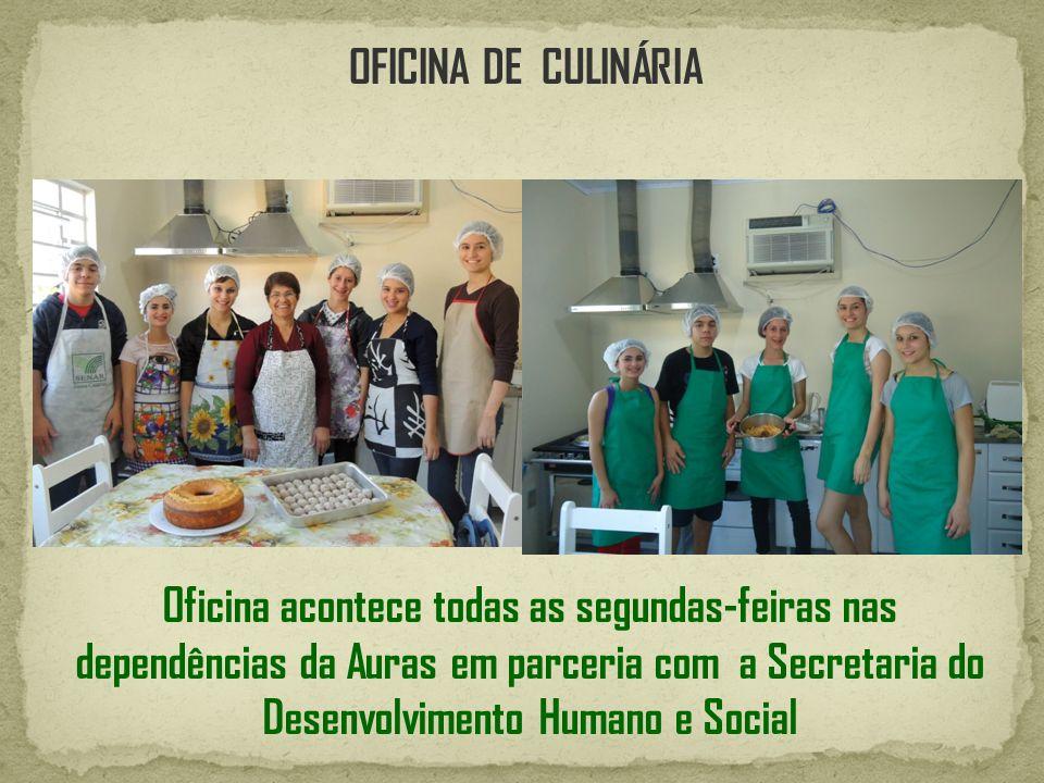 OFICINA DE CULINÁRIA