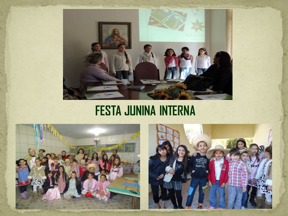 FESTA JUNINA INTERNA