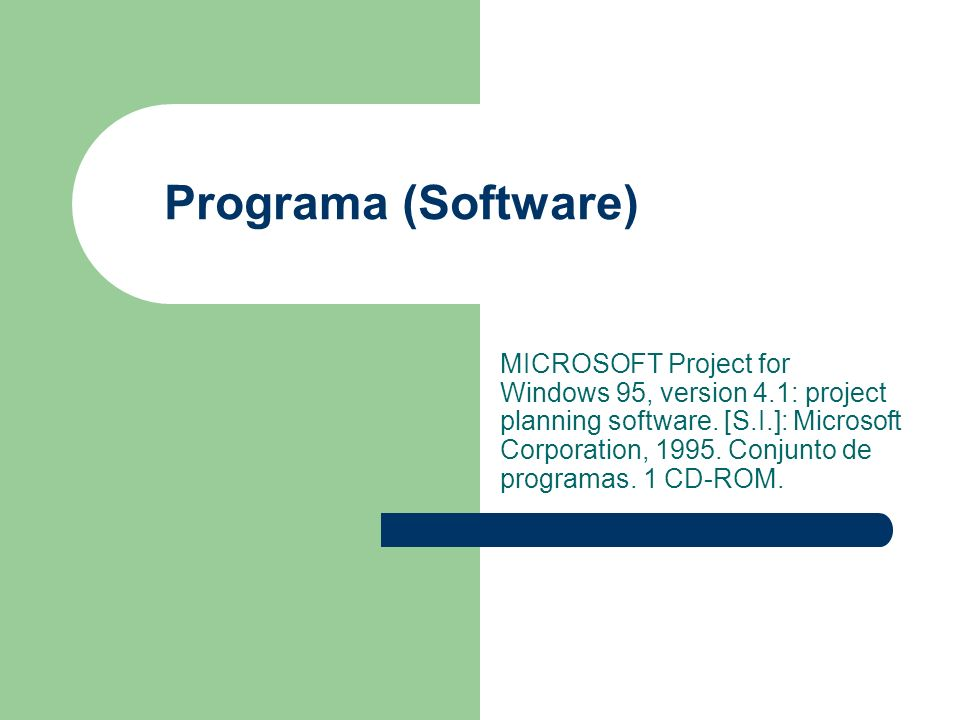 Programa (Software)