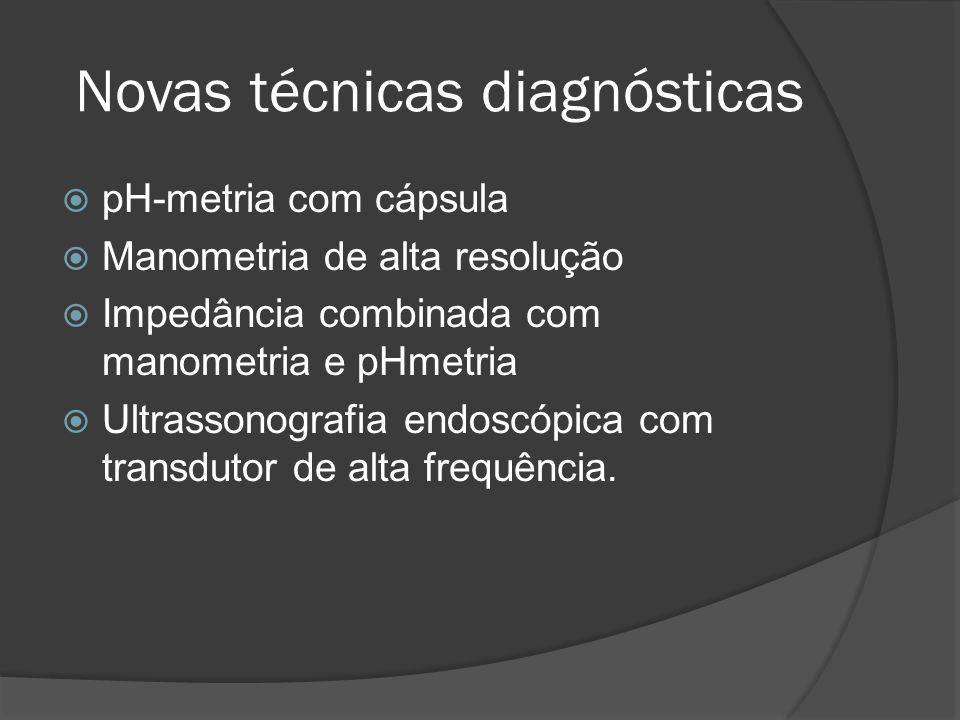 Novas técnicas diagnósticas