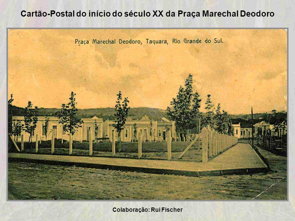 Cartão-Postal do início do século XX da Praça Marechal Deodoro
