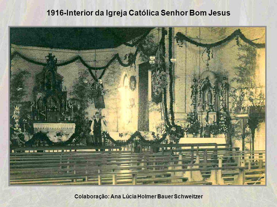 1916-Interior da Igreja Católica Senhor Bom Jesus
