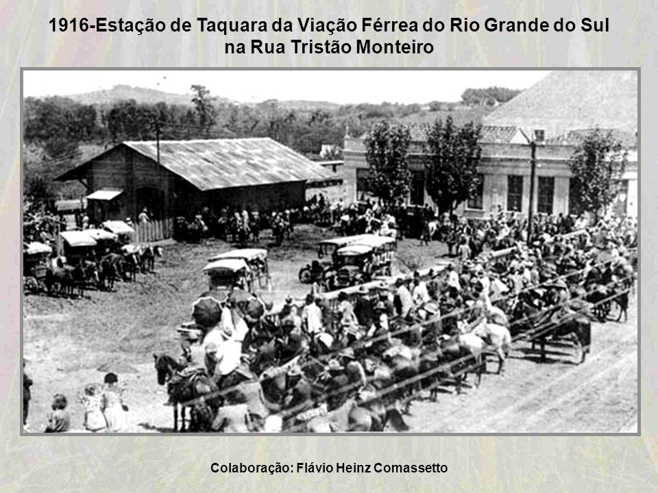 1916-Estação de Taquara da Viação Férrea do Rio Grande do Sul