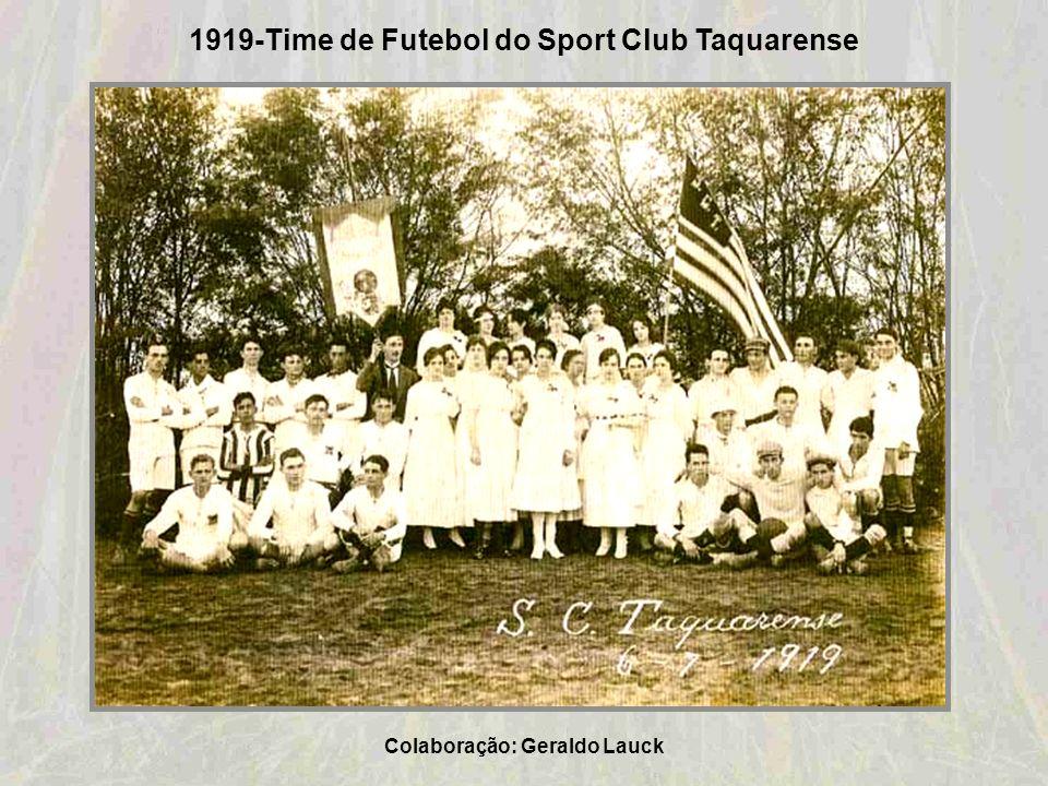 1919-Time de Futebol do Sport Club Taquarense