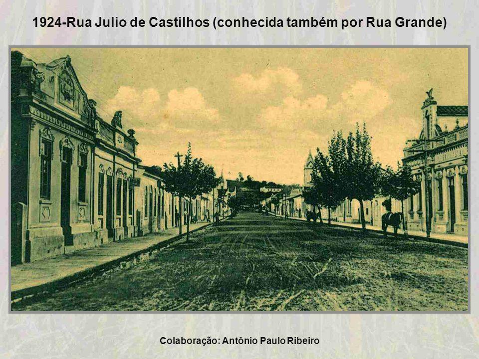 1924-Rua Julio de Castilhos (conhecida também por Rua Grande)