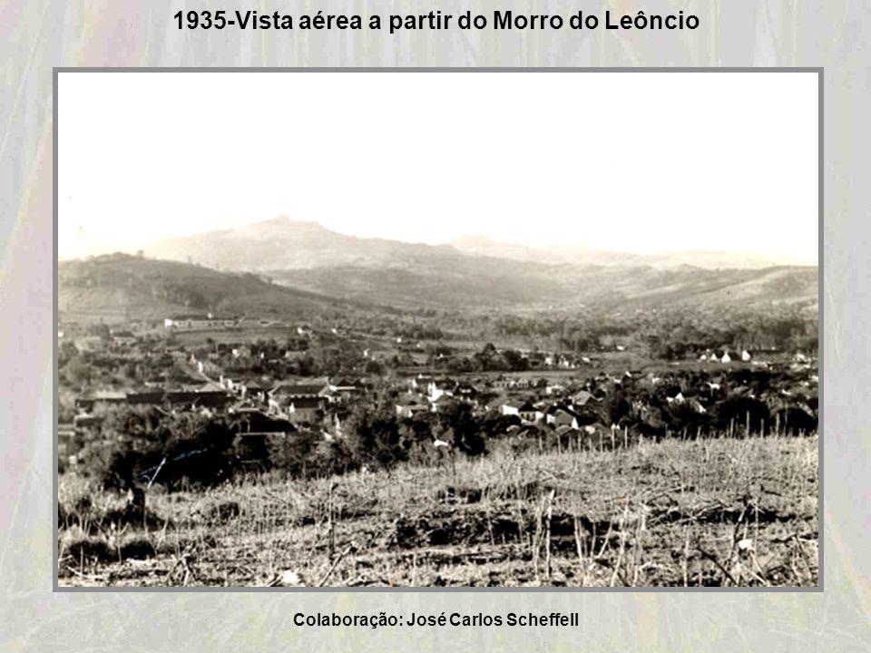 1935-Vista aérea a partir do Morro do Leôncio