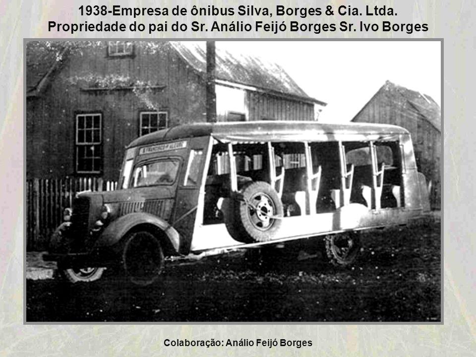 1938-Empresa de ônibus Silva, Borges & Cia. Ltda.