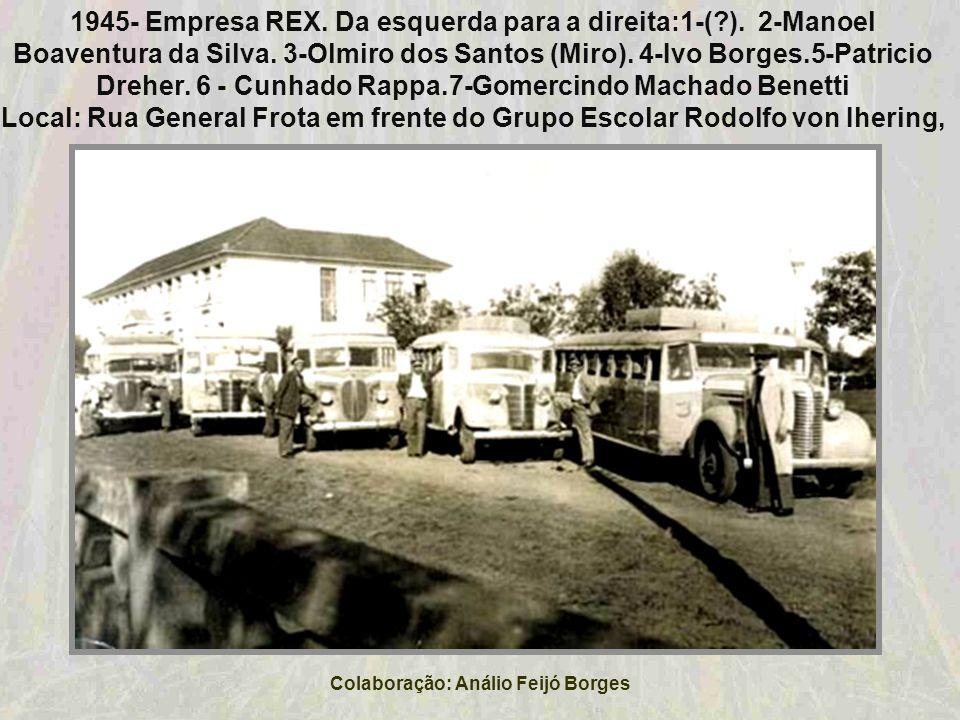 Colaboração: Análio Feijó Borges