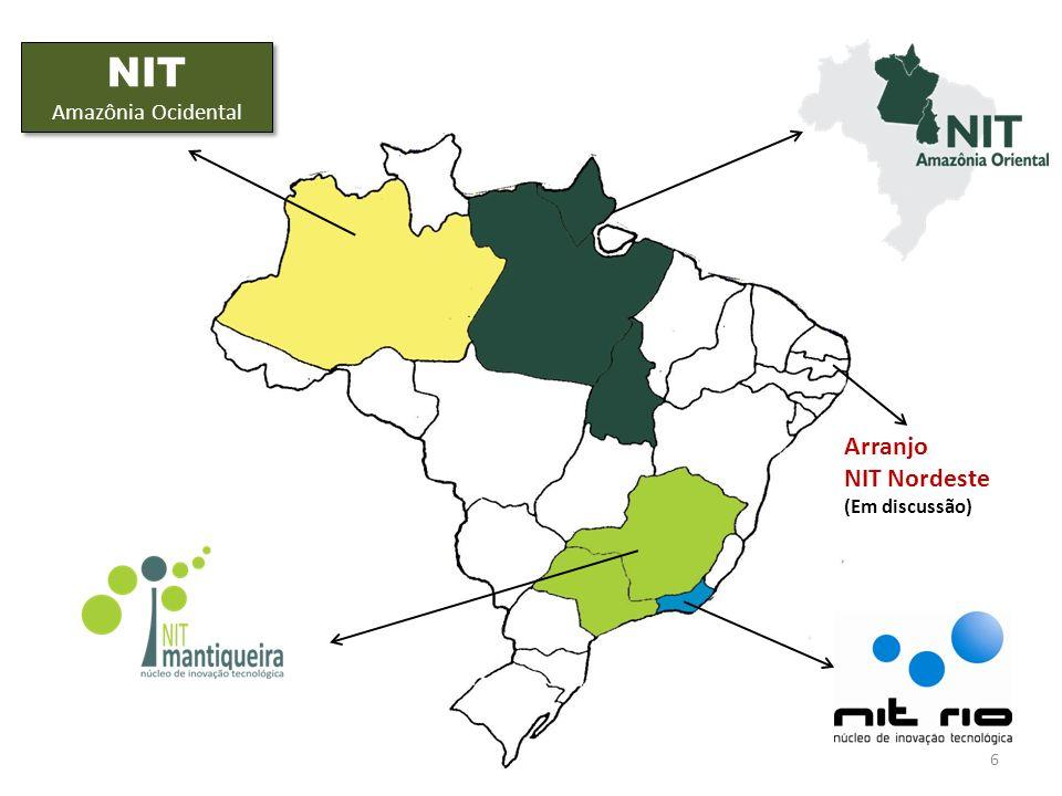 NIT Amazônia Ocidental Arranjo NIT Nordeste (Em discussão)