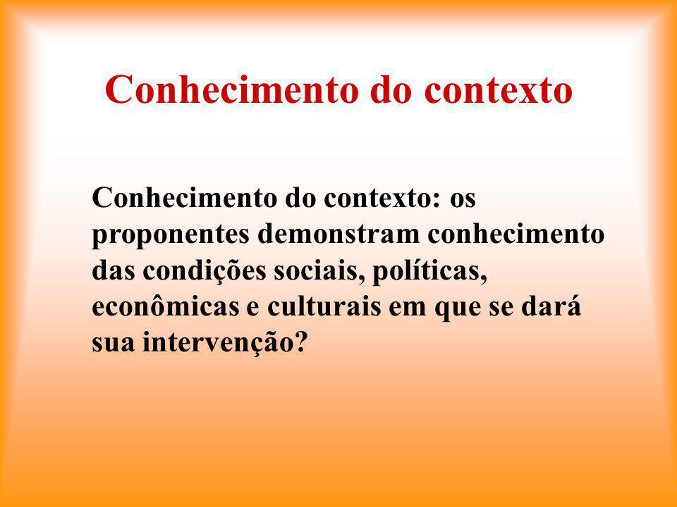 Conhecimento do contexto