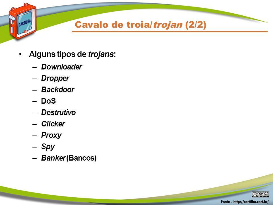 Cavalo de troia/trojan (2/2)