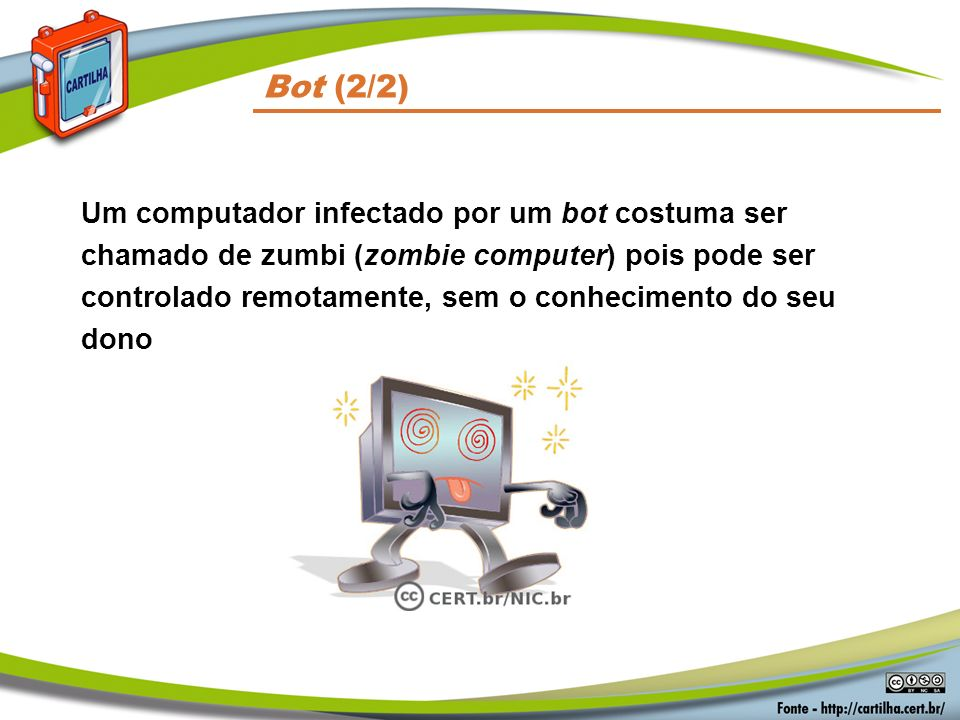 Códigos Maliciosos Bot (2/2)